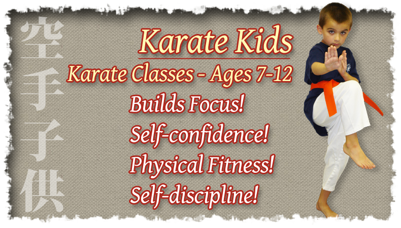Karate Kids Karate Classes – Ages 7-12