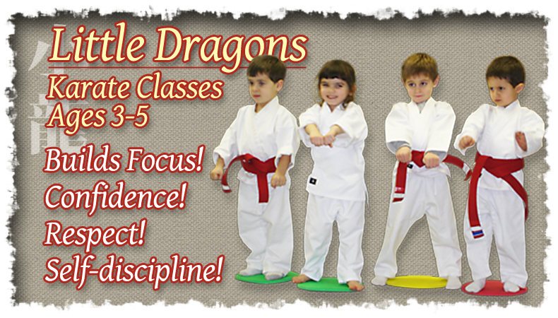 Little Dragons Karate Classes – Ages 3-5