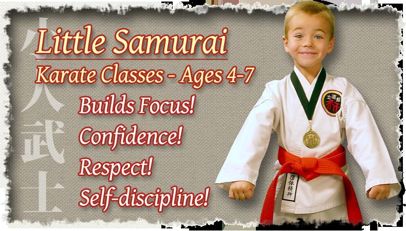 Little Samurai Karate Classes – Ages 4-7
