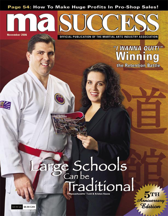 MA Success Magazine Cover
