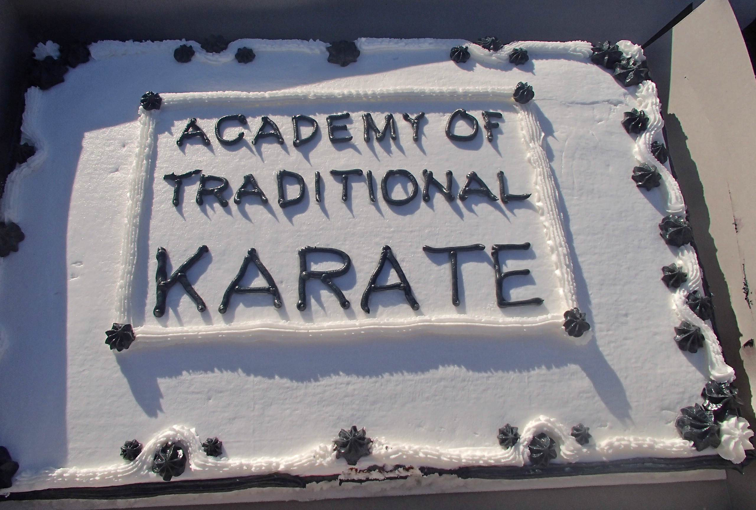 Academy of Traditional Karate Cake
